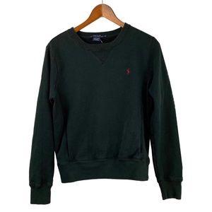 Crew Neck Ralph Lauren Sweatshirt